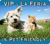 VIP - La Feria is a Pet Friendly Park