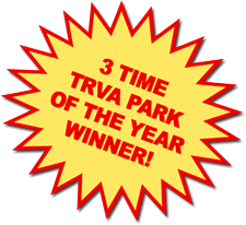 TRVA Park of the Year 3 out of the past 4 years!